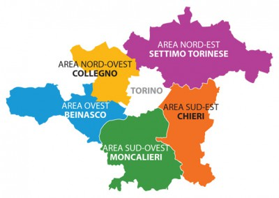 Torino area metropolitana